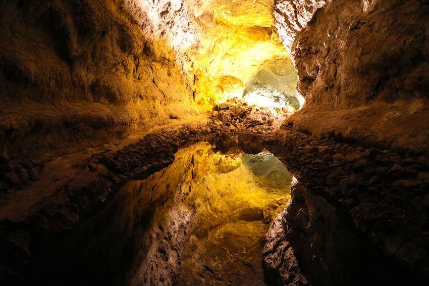 Cueva de los Verdes, Lanzarote Arrecife Lanzarote Cave Caves Caves Photography Cueva De Los Verdes Grotto Nature Rock Rock - Object Solid