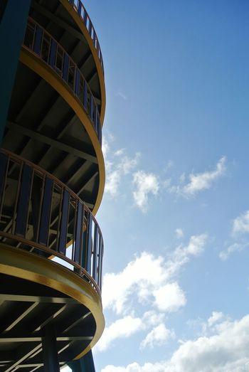 Sinurambi Tambunan (tambunan Viewing Point) #photography #Phonegraphy Curve Blue History Sky Architecture The Architect - 2018 EyeEm Awards