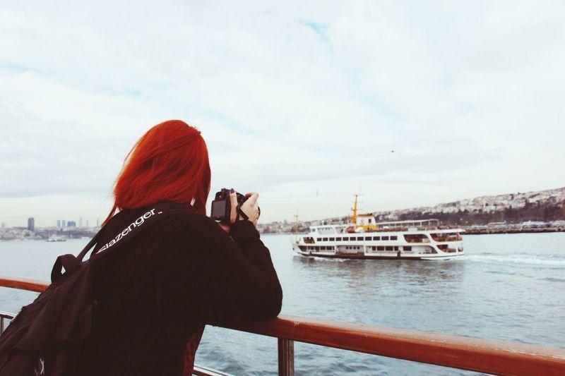 Sky Sea Photography Orange