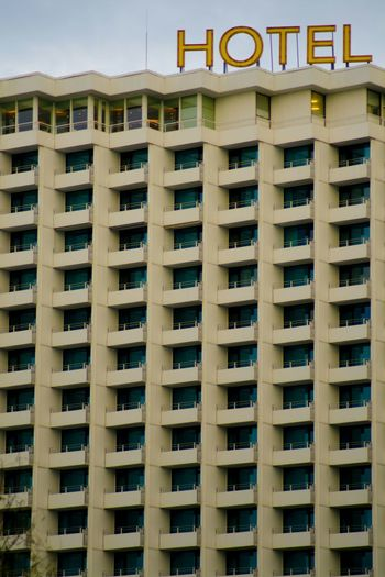 Hotel My Eyes For ArchitectureTourism PlattenbauEastsea-coast Germany Socialism Textures And Surfaces GDR Cold Days Destination Muster Mix Tourim Balcony Geometric Shapes Architecture House Facade Windows Typo Around The World