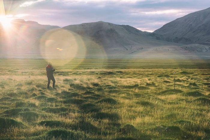 Lake, mountains and life! Ladakh Tsokar Ladakhdiaries Adventure