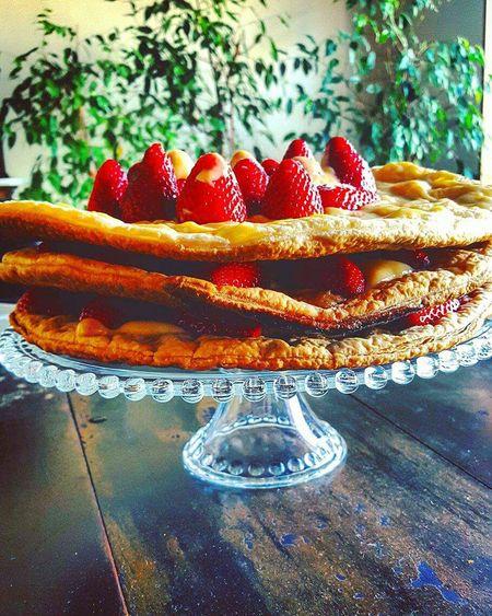 Cake Strawberry Strawberries Madebyme Foodporn Touparachefdoanocj