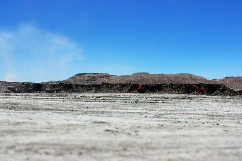 it is my office :p Open Pit Mine Excavator Working Hardwork