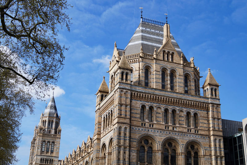 London London Natural History Museum Architecture Building Exterior Built Structure City Cloud - Sky Day History Low Angle View No People Outdoors Sky Travel Destinations