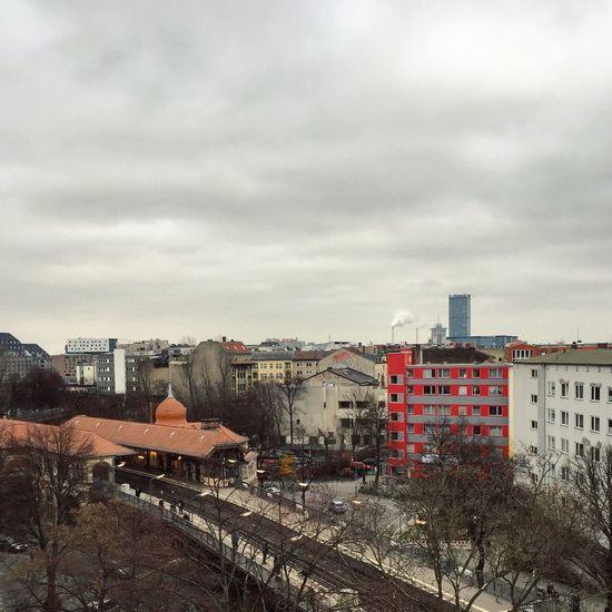 Abstract Allianz Architecture Architecture_collection Berlin Photography Berlin Sky Berliner Ansichten Berlinstagram Building Exterior Built Structure City Cityscape Cloud - Sky Day Kreuzberg Minimal Modern No People Outdoors Panorama Residential Building Schlesisches Tor Sky Tree View From Above