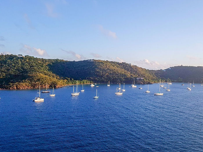Landscape City Life Mode Of Transport Beauty In Nature St. Thomas, Virgin Islands Ships⚓️⛵️🚢 Sunset Sunset_collection Sea Sea And Sky Seascape Sea Life Sea View Travel Travel Destinations Travel Photography RoyalCaribbean Royalcaribbeanexplorerofthesea RoyalCaribbeanCruise