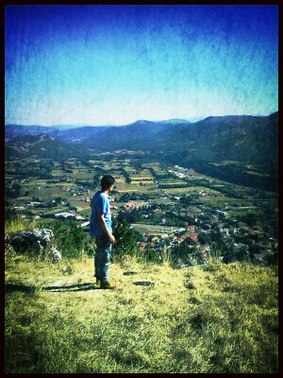 From Where I Stand Italy Leonessa On Top Of The World