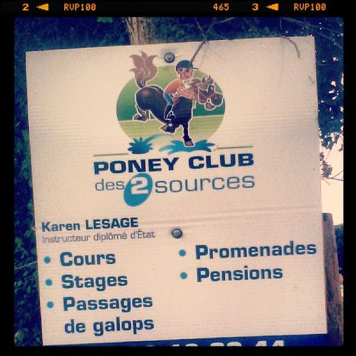 Poney club de la Zad à NDDL Lulz