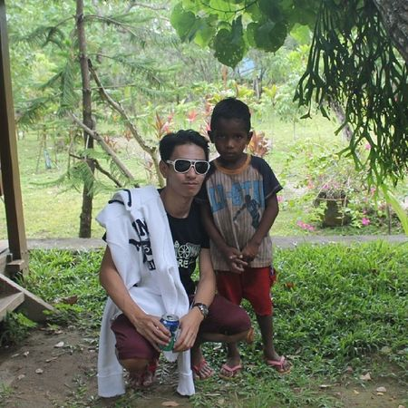 My young Aeta Friend , Chololoy. Cute ! :)