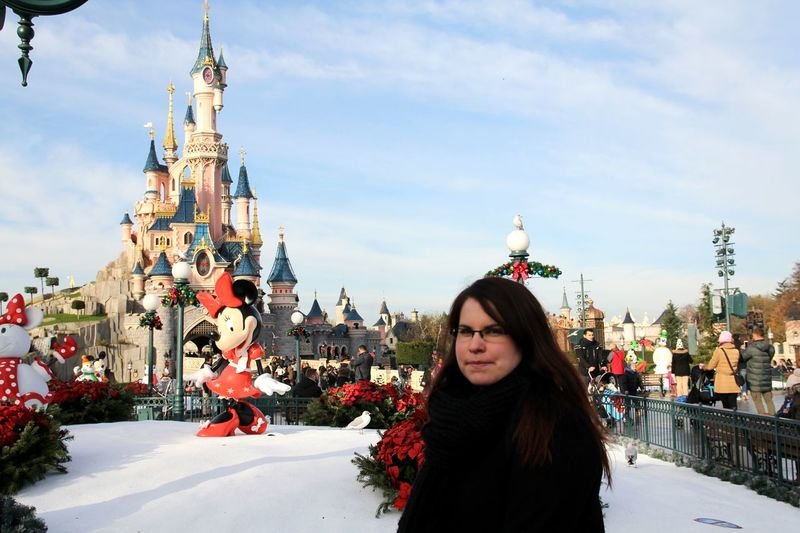 Disney Disneyland Disneyland Paris Disneylandparis Disney Land Disney Castle Cinderella Castle Merry Christmas! Disneyland<3 Cinderellascastle