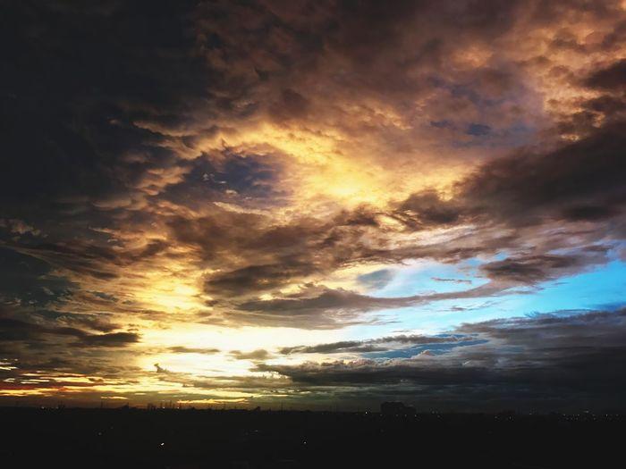 Sunset Bangkok Thailand.