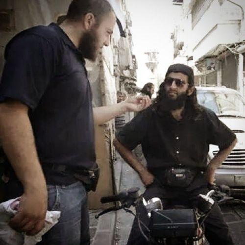 الشهيدين ابو ماهر و ابو مهيب شهداء_الاغاثة حلب سوريا مساكن_هنانو
