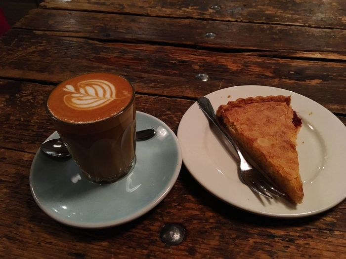 North Tea Power Northern Quarter Manchester, Coffee and Cake. I Phone 6s