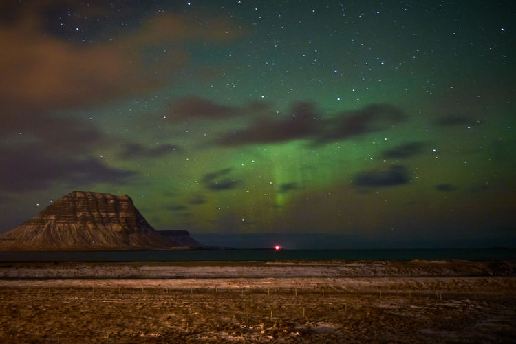Night Sky Star - Space Scenics - Nature Beauty In Nature Space Astronomy Tranquility Tranquil Scene Nature Cloud - Sky Idyllic No People Galaxy Land Landscape Environment Non-urban Scene Outdoors Iceland Aurora Aurora Borealis Kirkjufell Majestic Milky Way