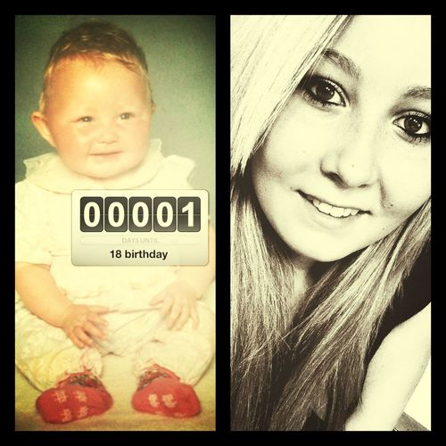 only a few hours until i turn Eighteen ❤