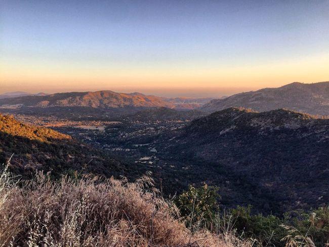 The Foohills of Sierra Nevada