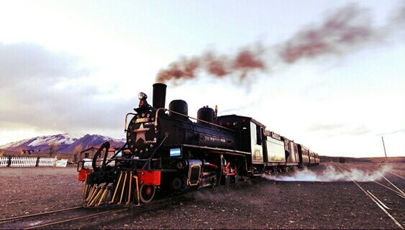 Expreso La Trochita -Esquel Chubut EsquelChubut Trenes Antiguos Trochita