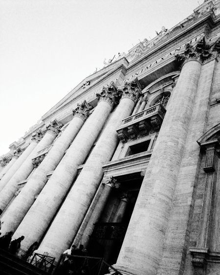 Architecture Built Structure City Tb History Roadtorome Roma VaticanCity Romeitaly Italia BasilicaDiSanPietro Basilicadesanpedro Dreaming BackToBlack Travel Destinations High Angle View EyeEm Selects