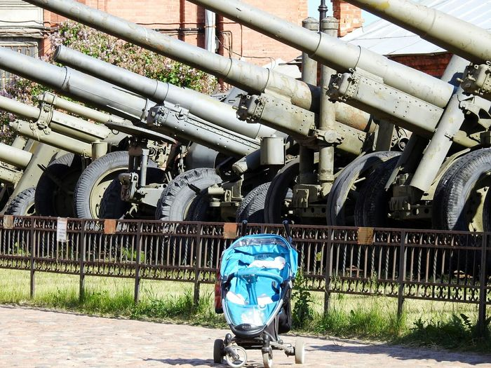 Guns Baby-chair Museum Of Artillery Sankt-Petersburg We Want Peace Russia Natocry Summer ☀