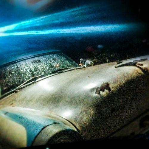 Learn & Shoot: After Dark no parking in heaven Blue Light Special Galaxy 1000 Blue Light Dark Park Sark Blue Movie Blur