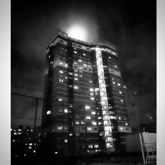 Black And White My Castle ♥ Full Moon Odintsovo