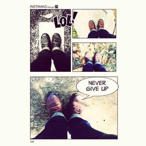 Never Give Up เปลี่ยนจุดยืน จะได้เจอสิ่งใหม่เพิ่มขึ้น