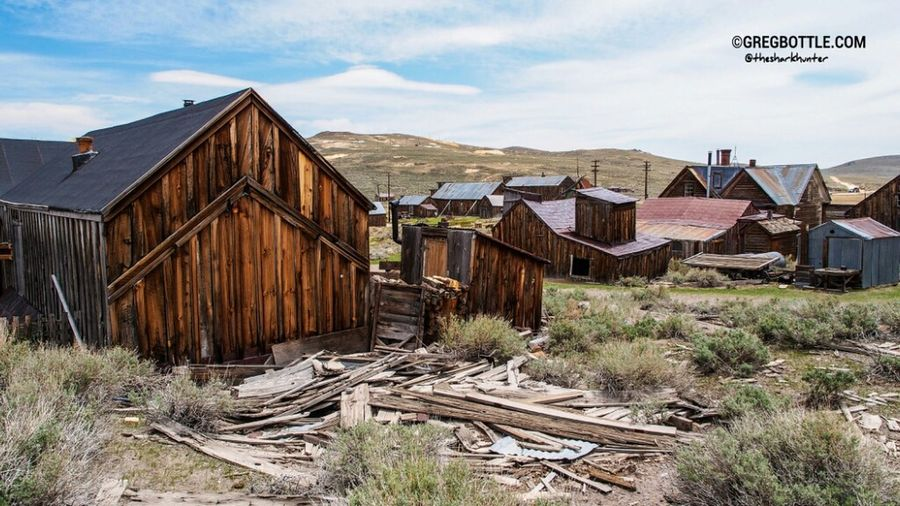 Even buildings that have called down are left where they fall to naturally decay and disappear forever. Ghost Town Beauty Of Decay My USA Trip 2013 Abandoned
