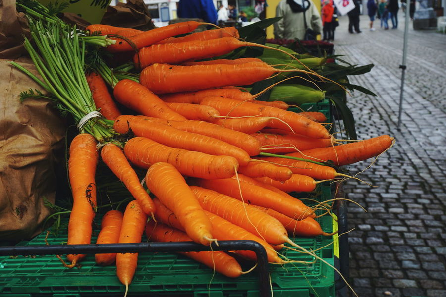 carrots Vegetable Market Food Food And Drink Freshness Healthy Eating Outdoors For Sale Day Choice No People Close-up Vegetables Carrot Carrots Mandal Norway Market Retail  Group Of Objects Large Group Of Objects Market Stall Business Finance And Industry Freshness Marketplace