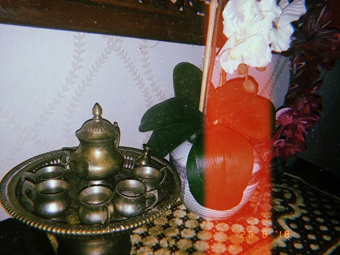 So Tradisional And Classic From My Village Decorative Art Teapot
