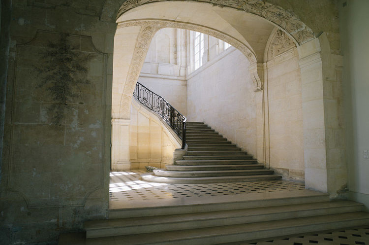Architecture France Historic Interior Interior Design Le Marais Light Light And Shadow Marais Paris Stairs Stairways