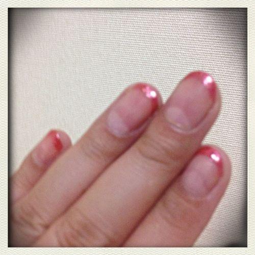 Self Nail Nails Not Bad (●´◡ु`●)