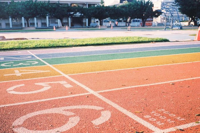 Outdoors Day Tree Running Track Sport Multi Colored Grass No People Nature Taiwan Happiness Close-up People EyeEm Selects Taichung Taiwa Travel Holiday - Event Happy