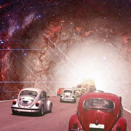 Cars Astral Psicodelic Escarabajo infinito galáctico
