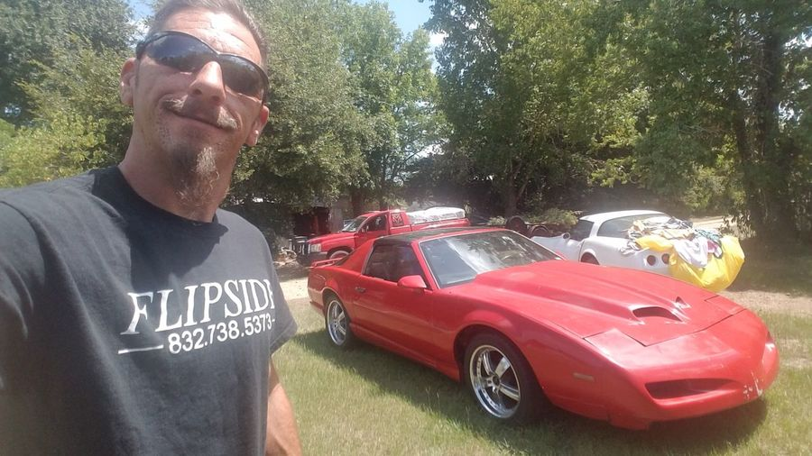 Flipside Firebird Trans Am T-Tops Htown Red Automotive Appearance Specialists Wash And Wax I Want It♡ Hoonigan4life Men Law Car Standing Eyeglasses  Sunglasses Sky