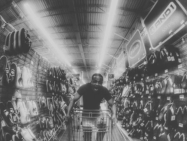 I'm always in the fast lane in wolly world Gopro Walmart