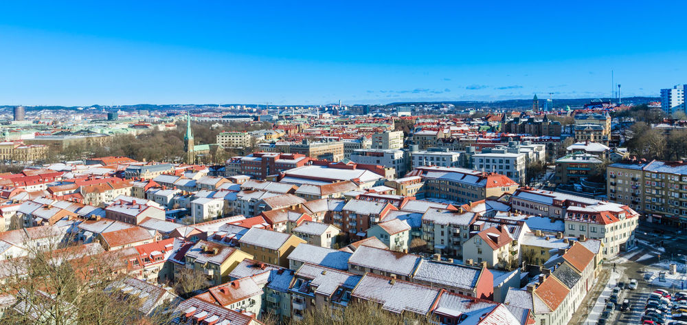 Gothenburg Sweden Gothenburg, Sweden Göteborg, Sweden Winter City Cityscape Scandinavia Haga