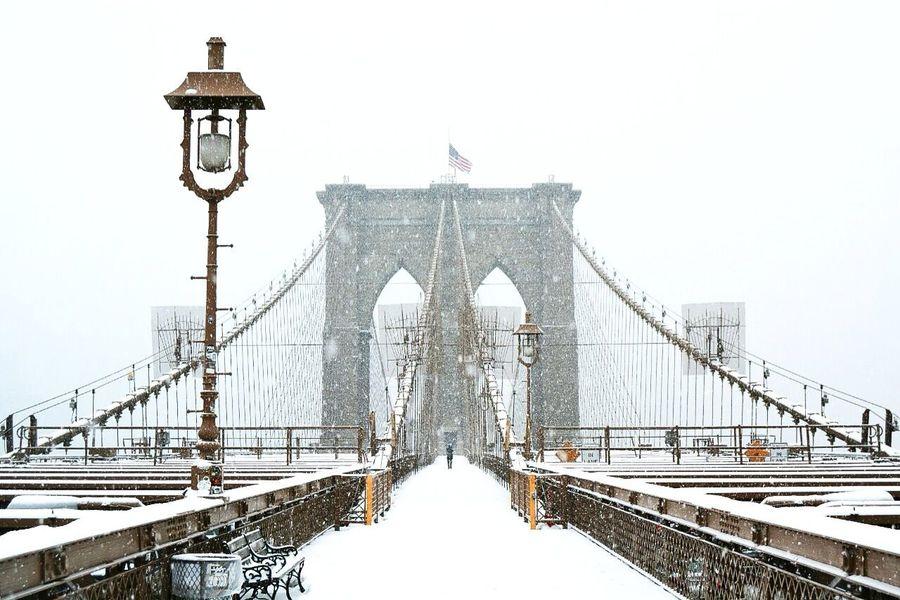 Brooklynbridge Brooklyn Bridge  Brooklyn Bridge / New York Bridge Snow Winter NYC Photography NYC New York New York City Market Bestsellers May 2016 Bestsellers Market Bestsellers November 2016