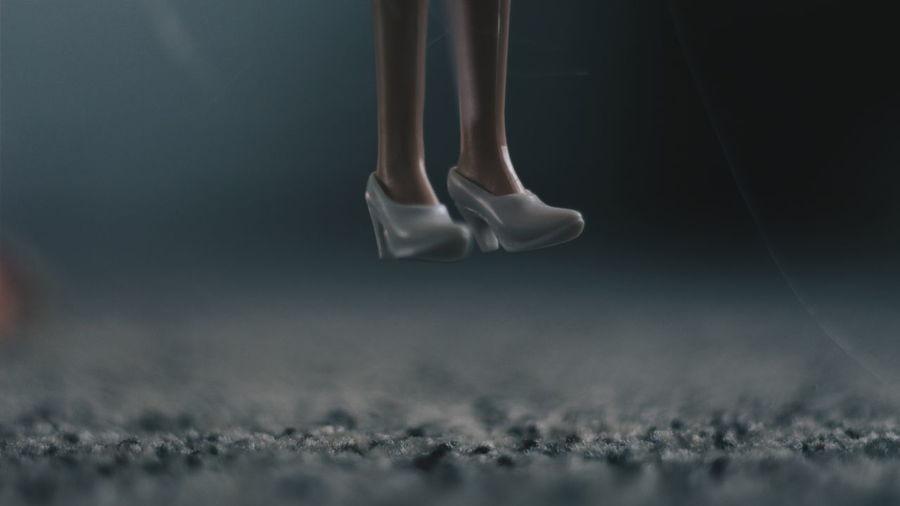 Levitation Moody Grunge Girl The Still Life Photographer - 2018 EyeEm Awards Human Body Part Human Leg Body Part Low Section Human Limb Limb One Person