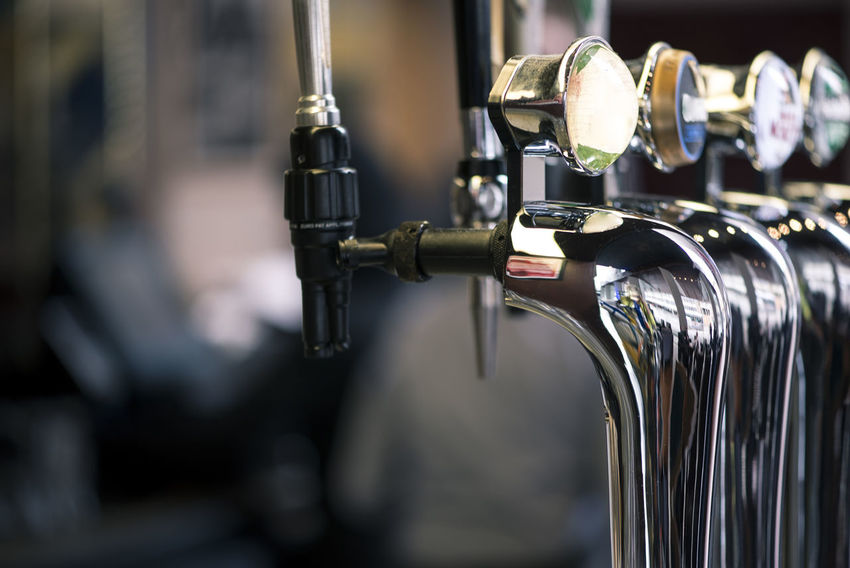 Beer Pub Alcohol Bar Business Chrome Close-up Draft Beer Draught Drink Equipment Focus On Foreground Indoors  Machinery Metal No People Technology Uk