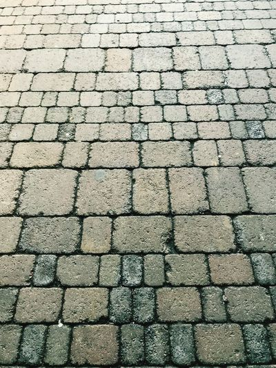 Outside paving. Multi Colored Durability Weatherproof Popular Photos The Week on EyeEm The Way Forward EyeEmNewHere Eye4photography  Strong Clean Different Repetition Blocks Street Pathway Focus On Foreground Close-up High Angle View Full Frame Backgrounds Pattern No People Textured  Outdoors Day Stone Tile