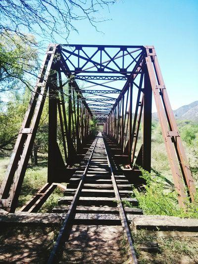 Alemania, Salta. Viejo Puente Ferroviario.