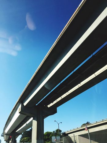 BART Bridge Train Architecture Built Structure Sky Fingers Sunlight Low Angle View Transportation Reflection Windshield Windshield Shots