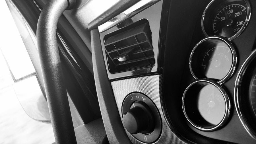 Blackandwhite Photography Guages  Samsung Galaxy S6 Edge Taking Photos Cellphone Photography Dashboard Travel Lines, Shapes And Curves Light And Shadow Peterbuilt Dials EyeEm Best Shots - Black + White Circles The World Around Me