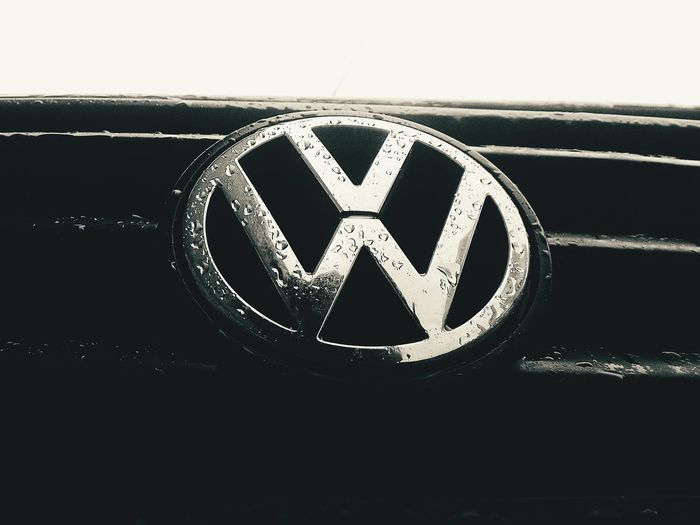 My friend's beloved Volkswagen in a rainy day Volkswagen No People Chilling Close-up Drops Water Droplets Water Drops Volkswagen Volkswagen Volkswagen Golf EyeEm Selects