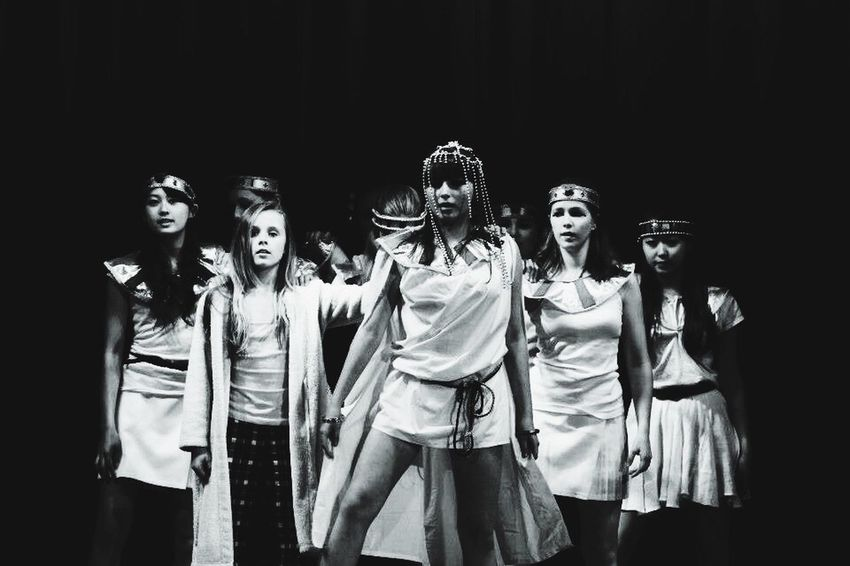 Showcase March Dance Journey Perfromance Blackandwhite