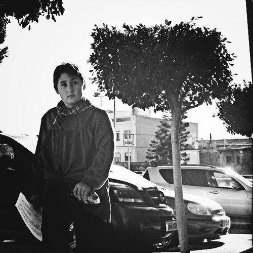 Hipstamatic Blackandwhite Street Portrait Fallas 2013
