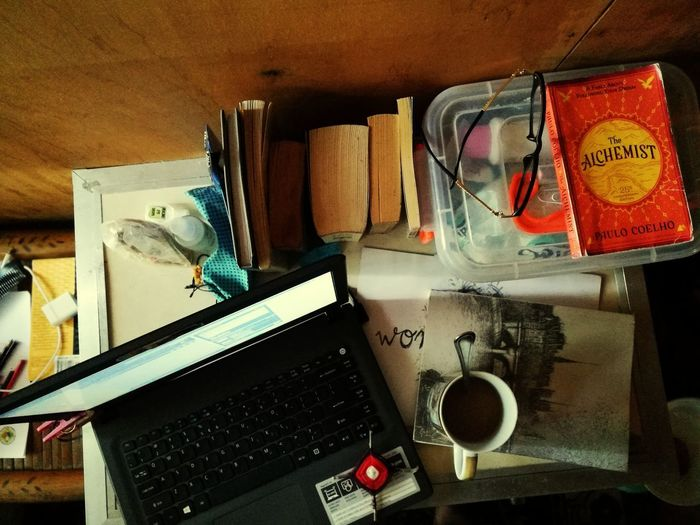 the work table