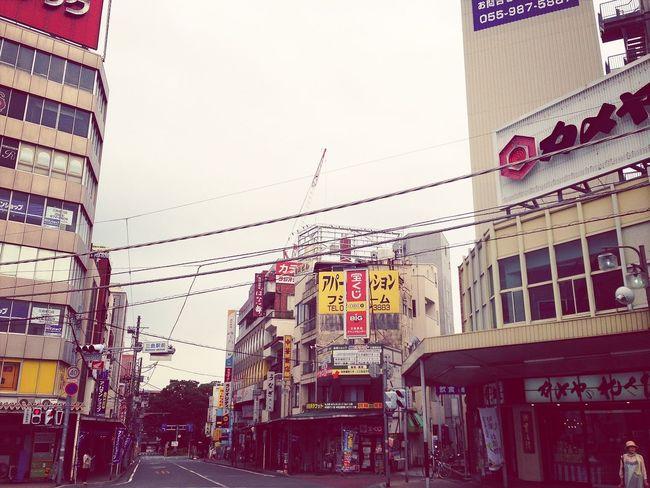 Streets Buildings Japan