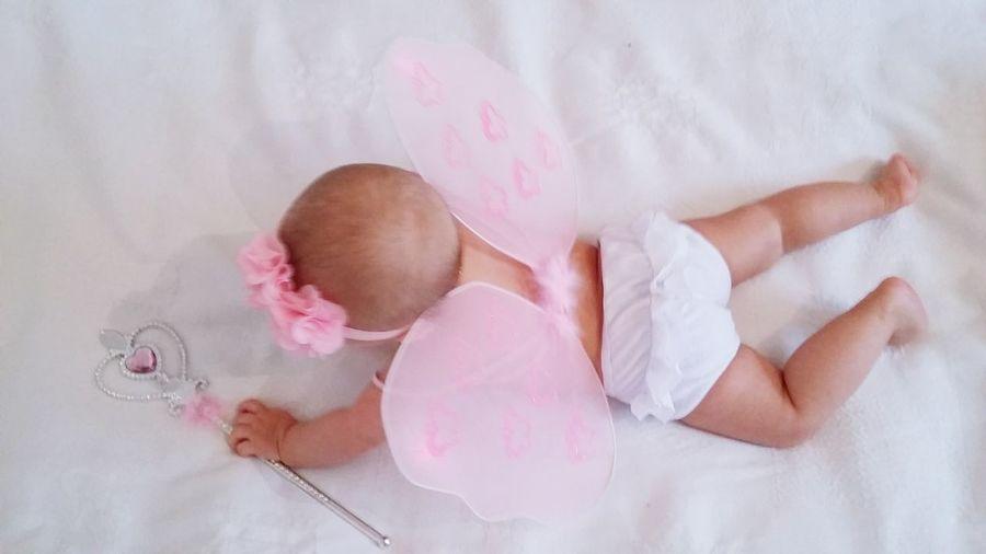 Hi! Mychild Socute💕 My Baby Girl <3 Feerique Papillon Princess Hello World Pinkcolour MyPrincess