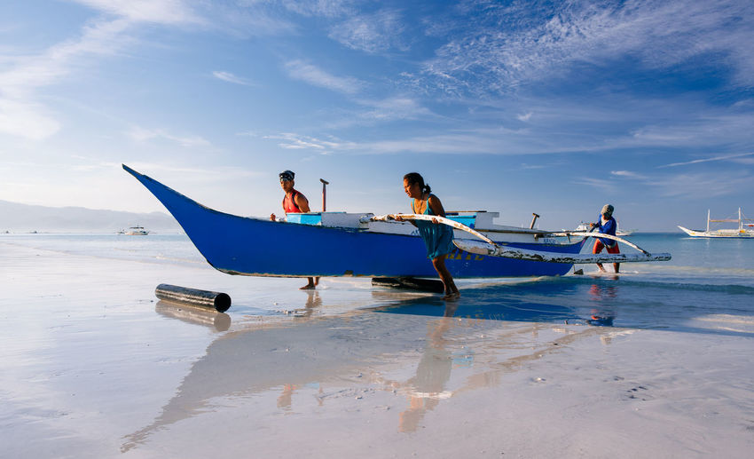 White beach - Boracay, Philippines